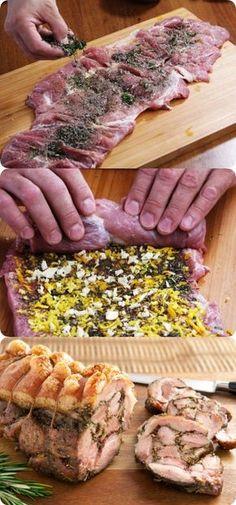 В Италии за это блюдо отдают бешеные деньги! Рецепт настоящей поркетты Salmon Recipes, Pork Recipes, Healthy Recipes, Easy Cooking, Cooking Recipes, Good Food, Yummy Food, Tasty Dishes, Food For Thought