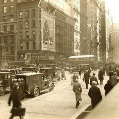 Old New York City Photographs 34 Street, 42nd Street, Street View, Henri Bendel, Neiman Marcus, Old Hospital, 5th Avenue, George Washington Bridge