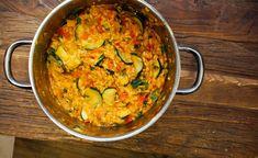 vegansk risotto oppskrift vegetarisk vegetarbloggen