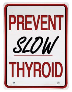 Know the slow thyroid symptoms and take care of yourself.