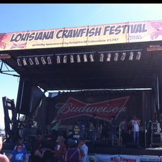 Louisiana Crawfish Fest, Chalmette, LA 3/25/12