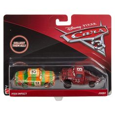 Cars 3 Diecast Scale Movie Moments 2 pack- Blindspot and Pushover Disney Cars Characters, Disney Cars Party, Disney Pixar Cars, Car Party, Disney Nursery, Baby Disney, Disney Cars Diecast, Wow Products, Toy Store