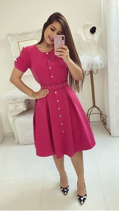Swans Style is the top online fashion store for women. Shop sexy club dresses, jeans, shoes, bodysuits, skirts and more. Trend Fashion, Cute Fashion, Modest Fashion, Fashion Dresses, Modest Dresses, Club Dresses, Formal Dresses, Short Gowns, Mode Hijab