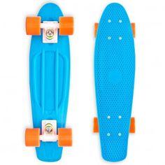 Longboard Baby Miller Original fluor blue   Snowboard Zezula