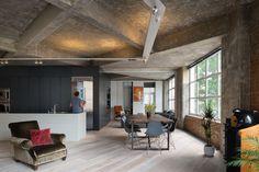 White wash wood flooring diagonal installation