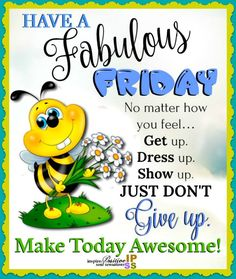 It's Friday! Make it count! Friday Morning Quotes, Happy Friday Quotes, Good Morning Friday, Cute Good Morning Quotes, Morning Greetings Quotes, Morning Inspirational Quotes, Sunday Quotes, Good Morning Messages, Good Morning Good Night