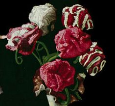 Carnation Flower Pattern