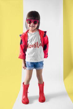 Bonita - Beautiful Spanish Girls Tee – The Purple Pineapple Co Girls Tees, Shirts For Girls, Kids Shirts, Cute White Tops, 3 Year Old Girl, Spanish Girls, New Years Sales, Baby Shirts, The Girl Who