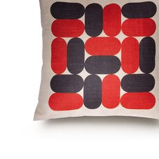Graphic goodness by Marianne Diemer We thought we'd kick the week off with a look at these brilliantly bold and graphic printed cushions by French designer Marianne Diemer, who founded her brand Rouge. Theo Theo, Wrap Magazine, Contemporary Quilts, Printed Cushions, Cool Chairs, Fun Prints, Printing On Fabric, Bed Pillows, Sewing Projects