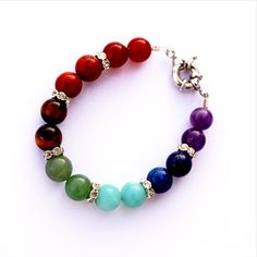 Chakra Stone Bracelet