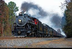 RailPictures.Net Photo: SR 630 Norfolk Southern Steam 2-8-0 at South of Ft. Payne, AL , Alabama by David C. Lester