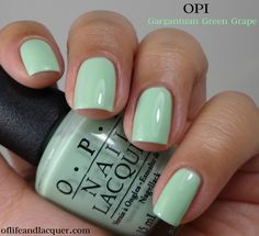OPI Gargantuan Green Grape