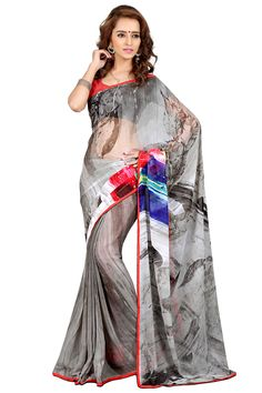 D No 20464 GEORGETTE Fancy Designer Saree - http://member.bulkmart.in/product/d-no-20464-georgette-fancy-designer-saree/