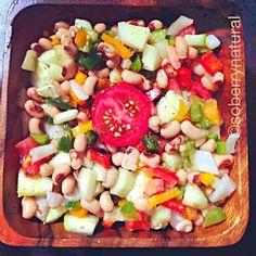 レシピとお料理がひらめくSnapDish - 15件のもぐもぐ - Black eye pea salad by soberrynatural