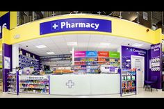 Supermarket Design | Pharmacy | Retail Design | Shop Interiors |