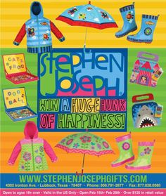 Stephen Joseph Prize Pack Giveaway