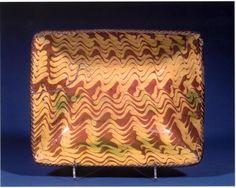 Loaf Dish    redware  Philadelphia, Pennsylvania  circa 1790