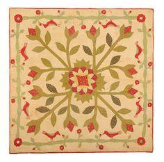 Crib quilt from my fellow appraiser Sandra Starley's blog. Great Blog!!!