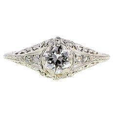 Doyle & Doyle - .50-carat diamond in platinum...