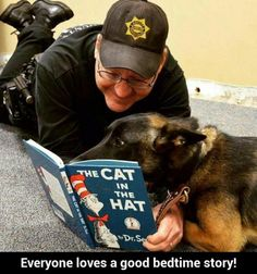 Everyone loves a good bedtime story!