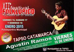 Festival Folklorico Union de Pueblos - Tapso 2015