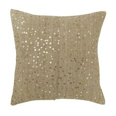 Gold pillow cover $44