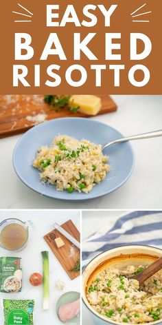 Chicken and Leek baked risotto a great baby food idea and family meal. Perfect kid friendly lunch or dinner. Get this delicious recipe here at My Kids Lick The Bowl
