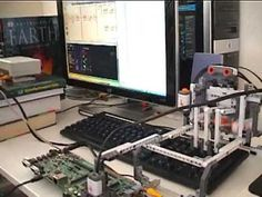 Tetris-Bot is a Tetris-playing robot. Now robots play games for us! Robotics Projects, Lego Projects, Lego Nxt, Artificial Intelligence Algorithms, Learn Robotics, Lego Machines, Lego Mindstorms, Science And Technology, Games To Play