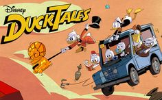 DUCKTALES Starring David Tennant As Scrooge McDuck - Teaser Trailer And New Series Poster Disney have revealed a new series poster for their much anticipated reboot of iconic cartoon series DuckTales. Due to land on Disney. Disney Ducktales, David Tennant, Disney Xd, Disney Pixar, Disney Characters, Teaser, 2017 Wallpaper, Scrooge Mcduck, Toddler Girls
