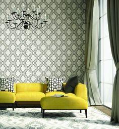 Brewster A Street Prints Silver Grey Chain Link Modern Designer Wallpaper DIY | Home & Garden, Home Improvement, Building & Hardware | eBay!