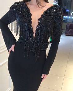 For the women who made it all possible, only the most stunning long black sparkly prom dress will do! We offer standard sizes, custom sizing and even customiza Sparkly Prom Dresses, Cheap Evening Dresses, Prom Dresses Online, Mermaid Prom Dresses, Modest Dresses, Prom Gowns, Prom Dress Shopping, Designer Dresses, Beautiful Dresses