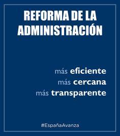 Reforma de la Administración #DEN2014