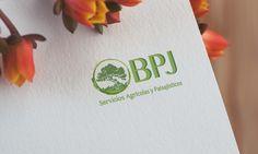 Diseño de logotipo para empresa de jardinería