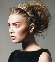 Prettiest messy hair updo ever!
