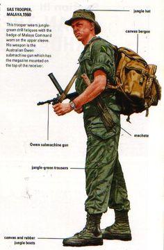 SAS in Malaya 1960's