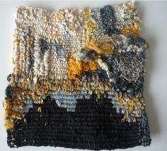 Graca Neves -- 20X20cm - Textil object - Linen, cotton and silk