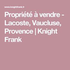Propriété à vendre - Lacoste, Vaucluse, Provence   Knight Frank