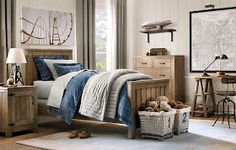 Recursos para cambiar de habitación: de niños a adolescentes – Deco Ideas Hogar Luxury Nursery, Luxury Bedding, Teen Boy Bedding, Restoration Hardware Baby, Ideas Hogar, New Room, Cozy House, Kids Bedroom, Interior Design