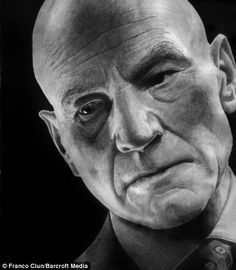 The most life-like drawings you will ever see: Incredibly detailed pictures of Hollywood stars drawn by HAND | Daily Mail Online