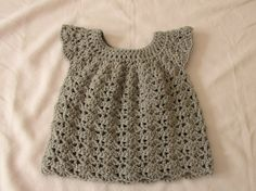 This detailed step by step tutorial will show you how to crochet a pretty baby / girl's dress or top. This dress is worked from the top down and is a suitabl...