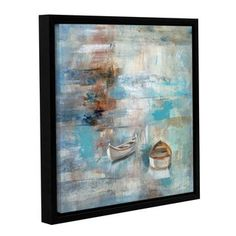 Shop for ArtWall Silvia Vassileva's Calm Sea, Gallery Wrapped Floater-framed Canvas. Get free delivery at Overstock.com - Your Online Art Gallery Store! Get 5% in rewards with Club O!