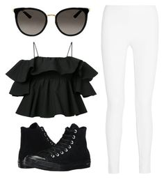 """•••"" by jessie-j-19 on Polyvore featuring MSGM, Joseph, Converse and Gucci"