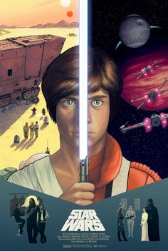 Star Wars: A New Hope by Anastasia Key