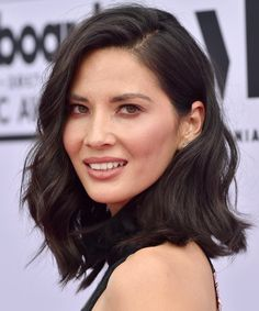 Olivia Munn | We've rounded up our all time favorite long bob haircut looks. These long lob looks will frame any face shape beautifully and are must-tries for this season.