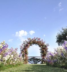 Floral Arch for The Ceremony