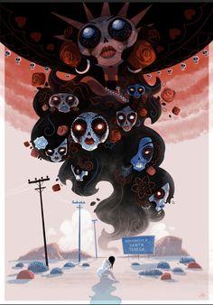 Tom Hänni illustration muerta