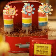 Push Pop Containers