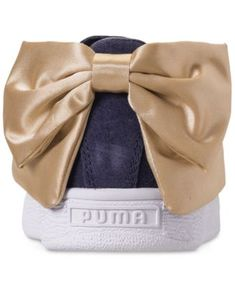 2719eef7e92 Puma Women s Suede Bow Casual Sneakers from Finish Line - Blue 8.5 Finish  Line