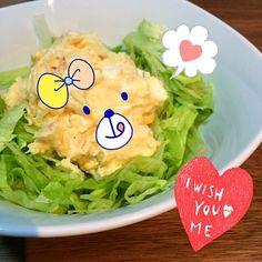 ポテトサラダだいすき - 8件のもぐもぐ - ポテトサラダ by blackbunnyh3X