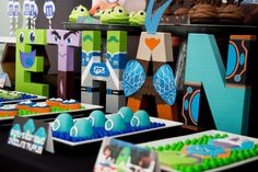 Miles from Tomorrowland Paper Mache Letters - 7 LETTER NAME
